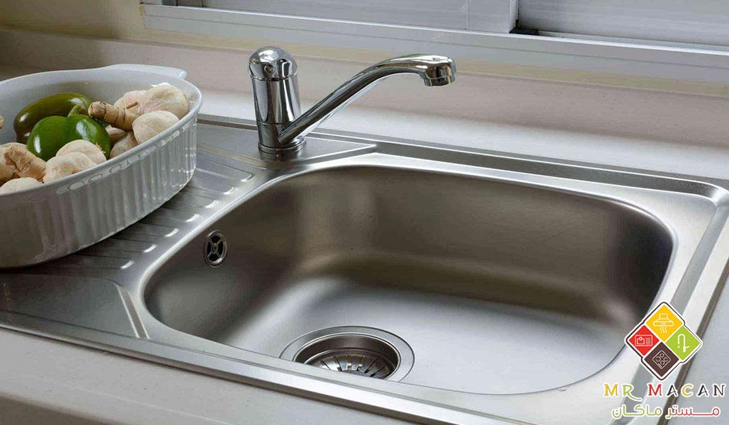 راه های بالا بردن طول عمر سینک ظرفشویی